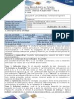 Guía de actividades y rúbrica de evaluación - Fase 3 - Evaluar factibilidad de solución para un sistema de comunicaciones por microondas