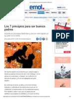 Los 7 Principios Para Ser Buenos Padres _ Emol.com