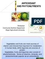 Antioxidants and Phytonutrients