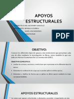 APOYOS ESTRUCTURALES