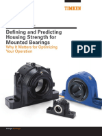 Defining and Predicting Housing Strength for Mounted Bearings