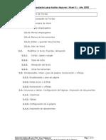 NIVEL II   3 Procesador de Texto