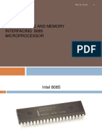 L4 8085 Architecture Ans Mem Interface
