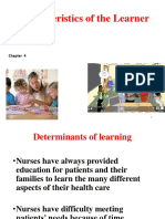 8th Lec Updated Determinants of Learning Ch. 4