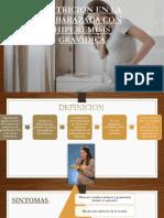 Nutricion en La Embarazada Con Hiperemisis Gravidica
