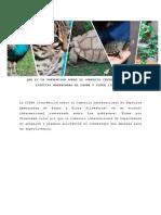 Que Es La Convencion Sobre El Comercio Internacional de Especies Amenazadas de Fauna y Flora Silvestre (1)