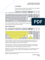 Introduction to Keyboard
