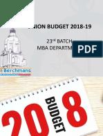 Budget Analysis 2018 Final (1)