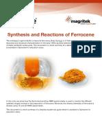 Spinsolve LabManual Ferrocene