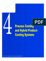 Managerial Accounting_Process Costing and Hybrid Product Costing System