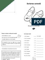 Scrierea corecta sai-sa-i - Brosurs cu activitati.pdf