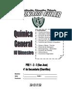 4to Secundaria 2013 - QUIMICA GENERAL - IV BIMESTRE.docx