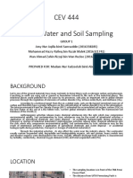 Water and Soil Prelab