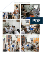 Dokumentasi Proses Terapi Aktifitas Kelompok