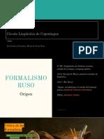 Fromalismo Ruso & CLC