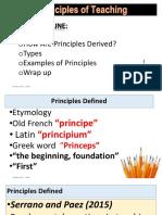 Principles of Teaching9