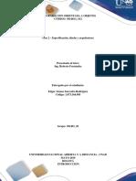 Fase 2 - Especificación, Diseño y Arquitectura