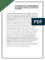 Evolución Tecto-estratigrafica Geomecanica de Unidades Litologicas Del Alto Piura