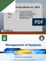 Crash Dyspnea Respirology