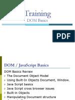 DOM JavaScript Basics