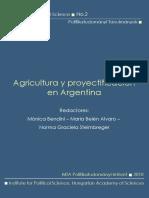 Agricultura y proyectificación en Argentina