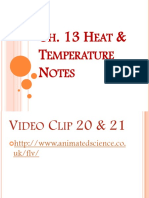 Ch 13 Heat and Temperature