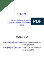 Factor Recuperacion C