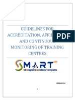 Centre Accreditation & Affiliation Guidelines Version 1.0