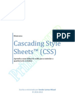 Minicurso - Cascading Style Sheets (CSS)
