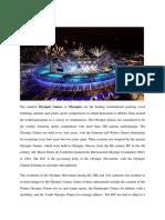 Olympic Games & FULL