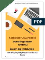 100 Computer Ques (DreamBigInstitution)