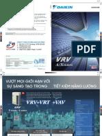 Catalogue Daikin VRV A/X (2019)