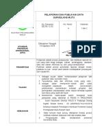 Sop Pelaporan Dan Publikasi Data Surveilans Mutu