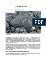 About Metamorphic Rocks