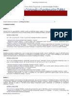 SubiecteConcurs - Constitutie