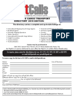The Philippine Cargo Transport Directory 2019