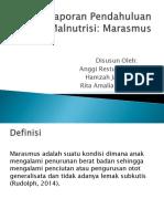 PPT MARASMUS