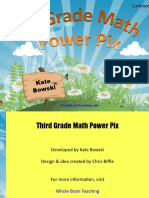 3rd Grade Math Power Pix