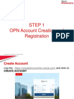 Oracle OPN HowToGuide