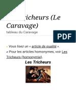 Les Tricheurs (Le Caravage)