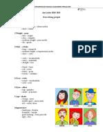 Describing People - Informative Sheet