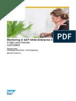 Monitoring in SAP HANA Enterprise Cloud March 2017