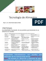 Tecnología de Alimentos CLASE 2