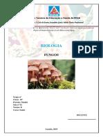 Alpega - Capa e contra- sobre Fungos