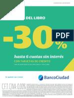 STICKER Banco Ciudad Feria Del Libro