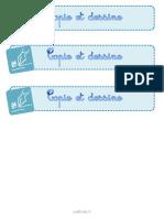 Copie Et Dessine Cp