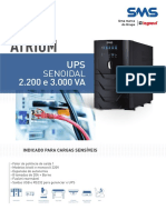 Catalogo de Nobreak Atrium UPS Senoidal 2200 e 3000 VA (26602 160511)