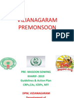 Presentation of Premonsoon sowing