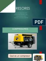 compresores de maquinaria minera