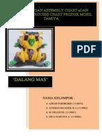 PERANCANG ASSEMBLY CHART DAN OPERATION PROCESS CHART PRODUK MOBIL MAINAN TAMIYA ( KELOMPOK DALANG MAS ) TIO 2.pdf